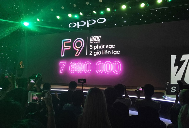 Oppo F9 có công nghệ sạc pin nhanh ra mắt tại Việt Nam, giá 7,69 triệu đồng - 4