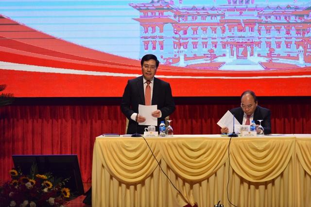Phó Thủ tướng Phạm Bình Minh cho biết: Ngoại giao kiến tạo phát triển sẽ được triển khai trên nhiều tầng nấc, quy mô và đa chiều (ảnh: Hữu Nghị)