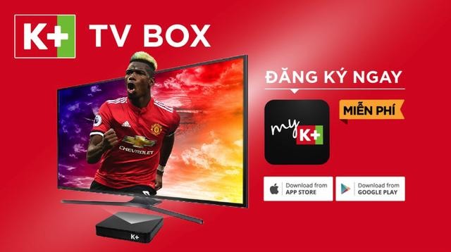 Kết nối K+ TV Box, xem ngay các nội dung độc quyền trên K+ không cần lắp đặt