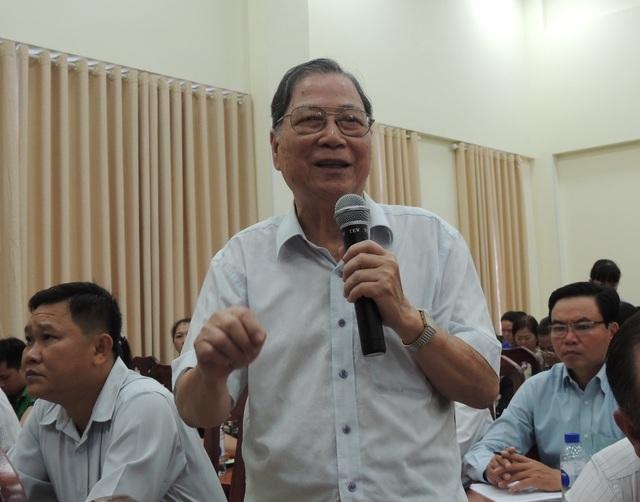 Ông Nguyễn Hữu Danh, Phó Chủ tịch Hội cựu giáo chức TPHCM.