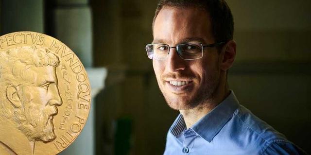 Giáo sư Alessio Figalli, một trong 4 nhà toán học nhận giải thưởng Fields 2018. (Ảnh: Gian Marco Castelberg)