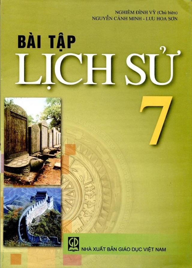 Ảnh bìa SGK bài tập lớp 7 (Ảnh: H.Phan).