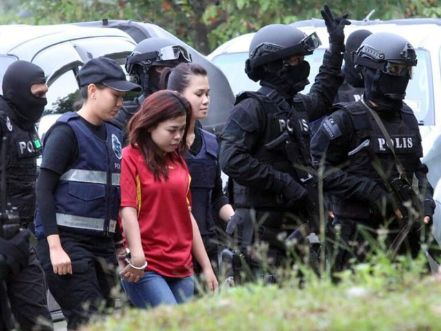Bị cáo Siti Aisyah (Ảnh: AFP)