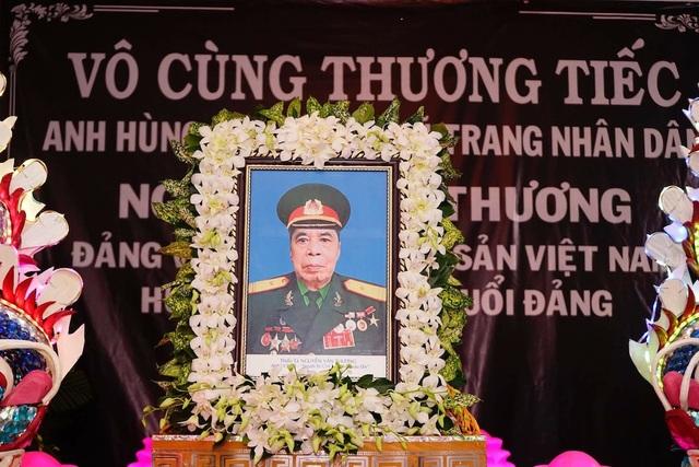 Sự ra đi của Anh hùng lực lượng vũ trang Nguyễn Văn Thương là niềm tiếc thương vô hạn của gia đình, bạn bè, đồng đội...