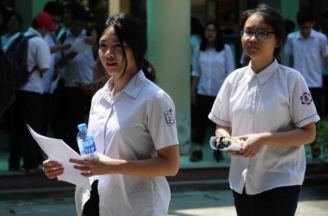 Học sinh thi vào lớp 10 THPT của Hà Nội năm 2018 (Ảnh: Mỹ Hà).