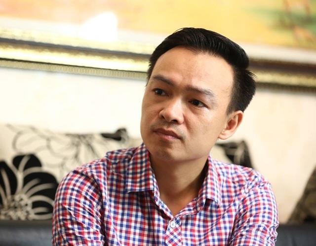 Thầy Trần Mạnh Tùng (giáo viên Toán, THPT Lương Thế Vinh, Hà Nội) - tác giả bài viết.