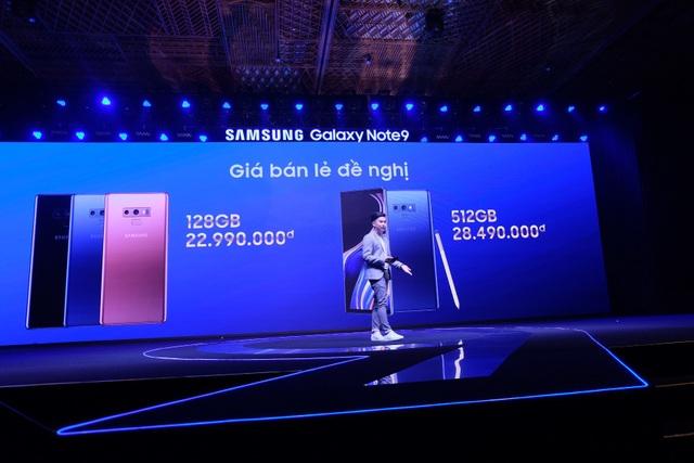 Galaxy Note9 có giá từ 22,9 triệu đồng
