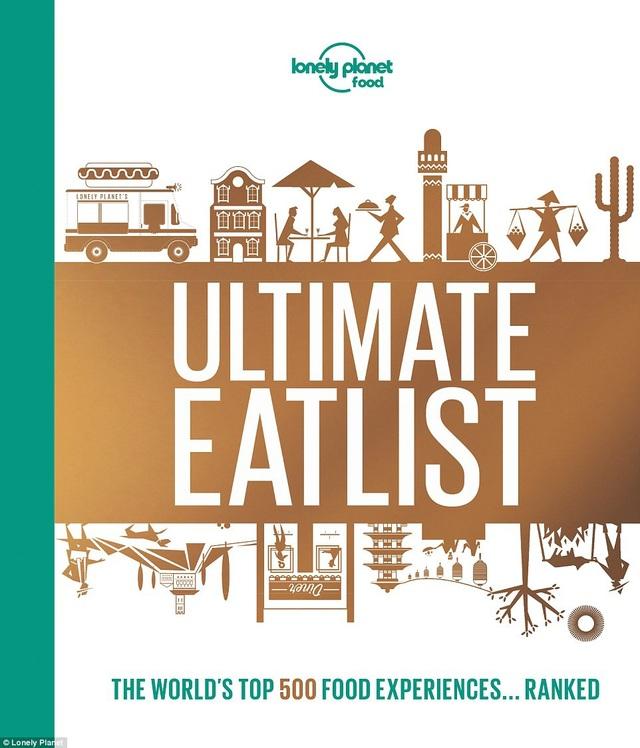 """Cuốn cẩm nang du lịch - ẩm thực """"Ultimate Eatlist"""""""