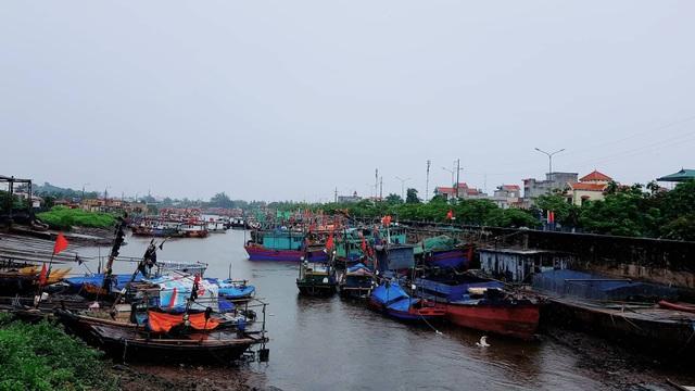 Tàu thuyền đã về neo đậu an toàn tại khu tránh trú thuộc phường Ngọc Hải, Đồ Sơn
