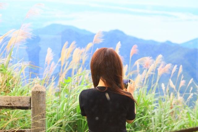 Khung cảnh tuyệt đẹp nơi cao nhất Bạch Mã cho các bạn trẻ chụp hình