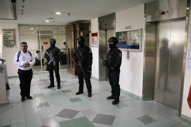 Phiên tòa được bắt đầu từ 10 giờ sáng nay theo giờ địa phương. An ninh được siết chặt ở khu vực bên ngoài nơi tổ chức phiên tòa. (Ảnh: Royal Malaysia Police Facebook)