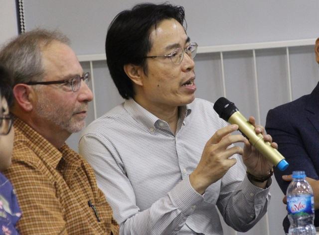 Ông Đặng Hoa Nam - Cục trưởng Cục trẻ em, Bộ Lao động Thương binh Xã hội tại tọa đàm.