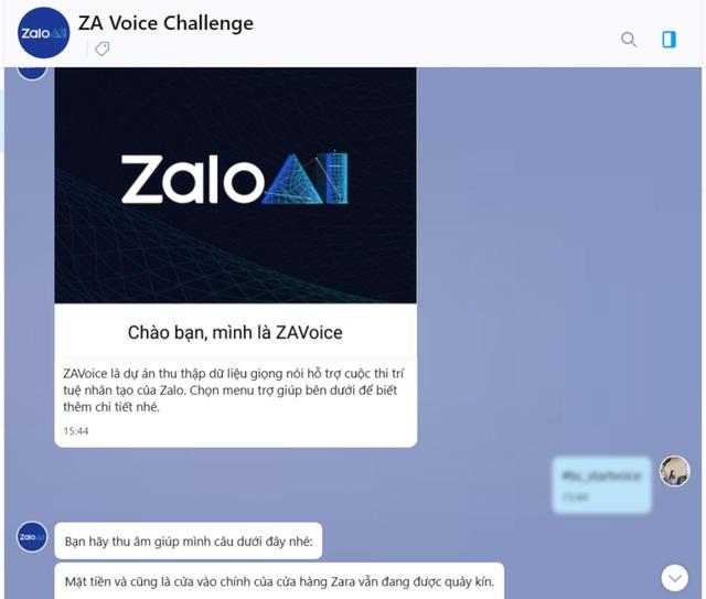 Chatbot hỗ trợ thu thập Voice Data cho cuộc thi