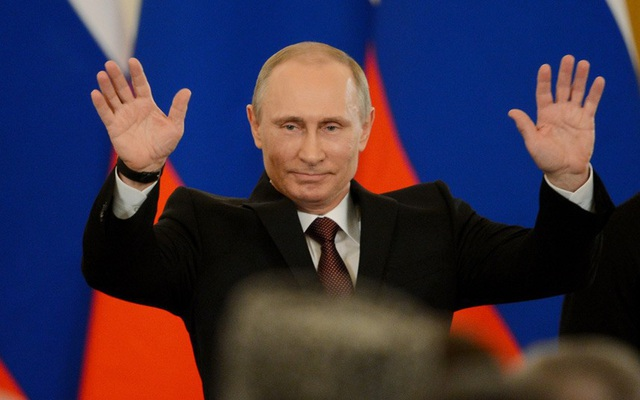 Tổng thống Vladimir Putin (Ảnh: AFP)