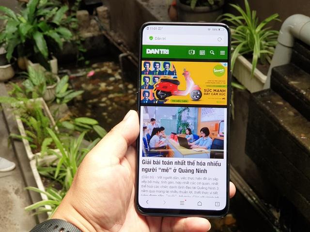 Vivo đưa smartphone camera trượt đặc biệt về giới thiệu tại Việt Nam - 1