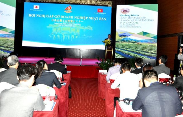 Gần 100 doanh nghiệp Nhật Bản tham dự hội nghị đầu tư vào Quảng Nam ngày 17/8