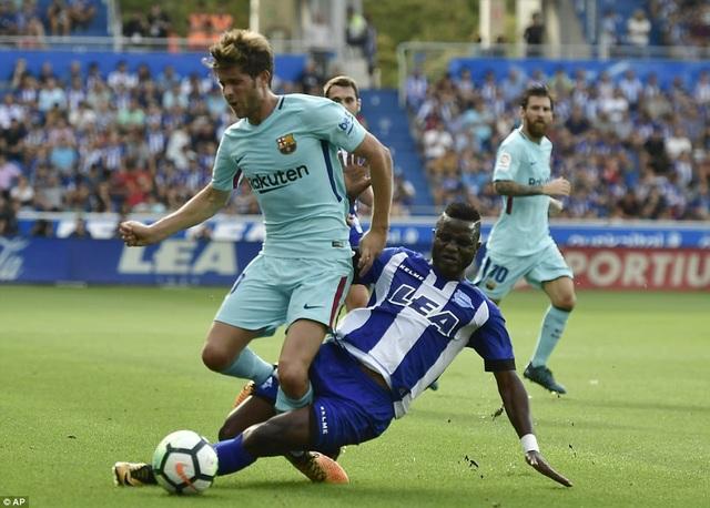 Barcelona từng thắng Alaves ở chung kết Cúp Nhà vua năm 2017