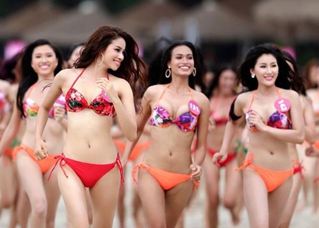 Cơ quan quản lý không bỏ phần bikini ở cuộc thi Hoa hậu.