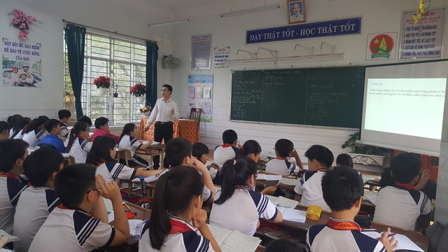 Từ năm học 2018 - 2019, học sinh THCS của TP. Quảng Ngãi sẽ làm chung đề kiểm tra 1 tiết.