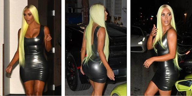 Kim Kardashian đi chơi tối cùng bạn bè tại Miami