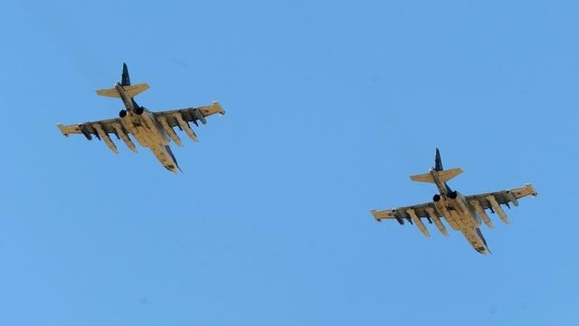 Máy bay Su-25 của Nga (Ảnh: Sputnik)