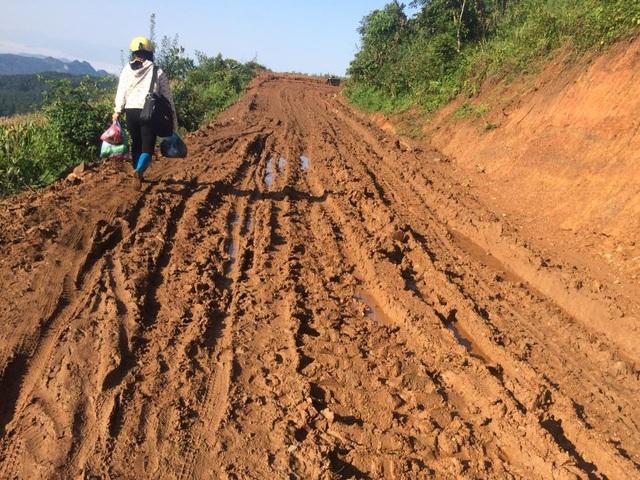 Cung đường vào các điểm trường ở xã Phan thanh, huyện Nguyên Bình, tỉnh Cao Bằng