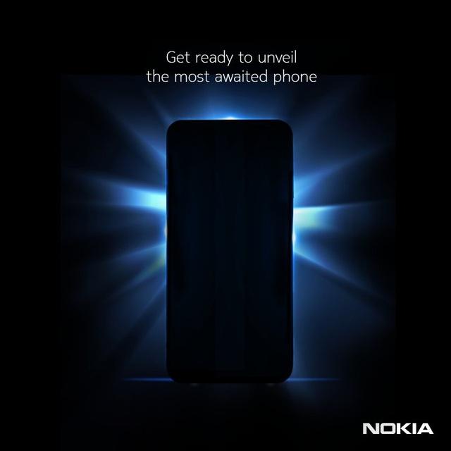 """Hình ảnh """"chiếc smartphone được chờ đợi nhất"""" xuất hiện """"úp mở"""" trên tài khoản Twitter của Nokia"""
