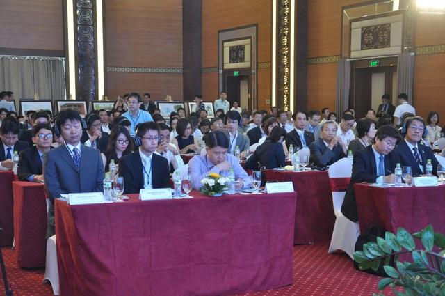 Đông đảo các doanh nghiệp Nhật Bản đến tham gia buổi gặp gỡ
