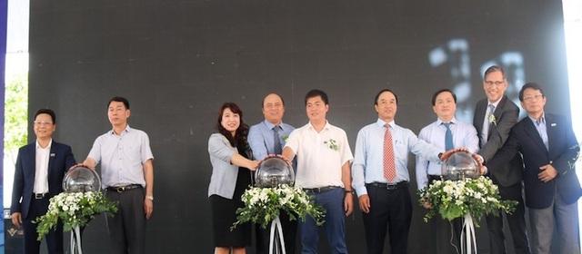 Chính thức bấm nút vận hành nhà máy nước sạch lịch sử tại tỉnh Bắc Giang! - Ảnh 1.