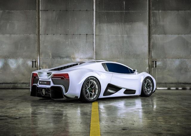 """""""Chim săn mồi"""" Milan Red - Mối đe dọa của Bugatti và Koenigsegg - 7"""