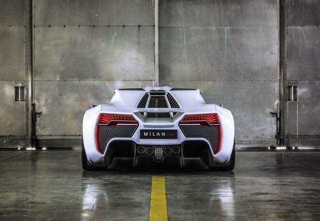"""""""Chim săn mồi"""" Milan Red - Mối đe dọa của Bugatti và Koenigsegg - 9"""