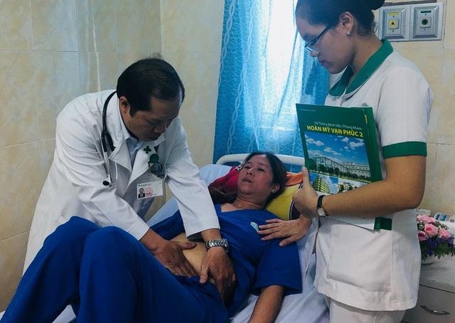 Nữ bệnh nhân may mắn qua cơn nguy kịch sau khi được hồi sức tích cực