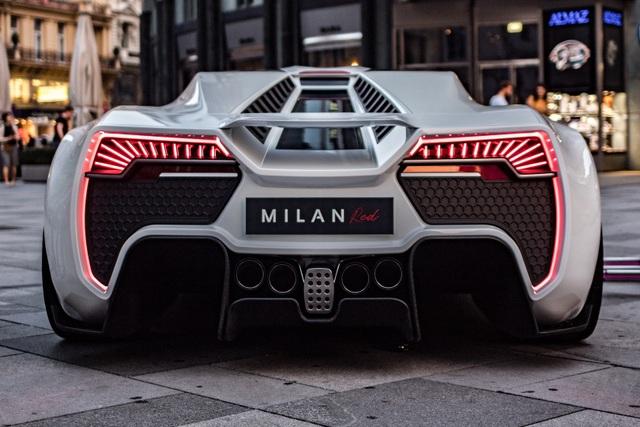 """""""Chim săn mồi"""" Milan Red - Mối đe dọa của Bugatti và Koenigsegg - 5"""