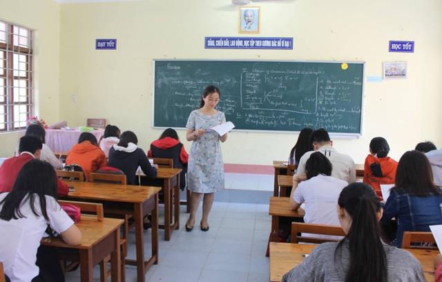 Chỉ tiêu năm 2018, Sở GD&ĐT Phú Yên chỉ tuyển 54 viên chức giáo viên (ảnh minh họa)