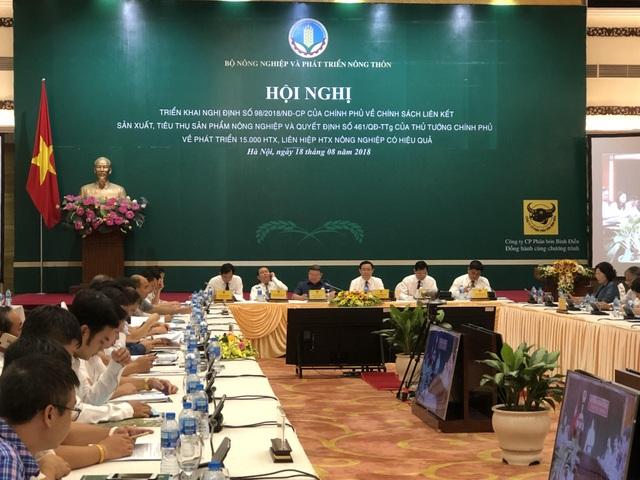 Hội nghị về phát triển HTX, liên hiệp HTX