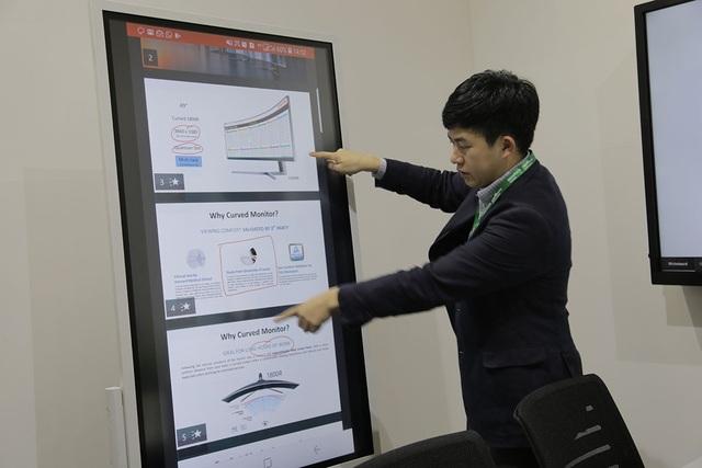 Samsung trình diễn giải pháp màn hình chiếu và kiểm soát an ninh tại Việt Nam - 2