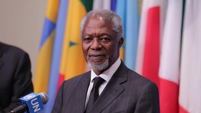 Cựu Tổng thư ký Liên Hợp Quốc Kofi Annan (Ảnh: Global Look Press)