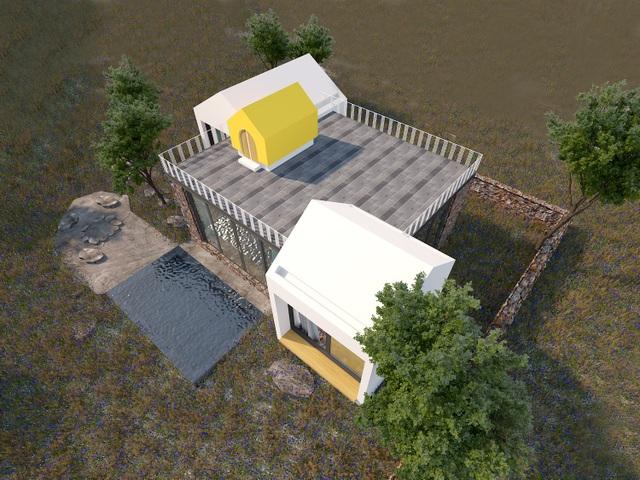 """Gợi ý mẫu thiết kế biệt thự nhà vườn """"mini"""" với chi phí khoảng trên 700 triệu đồng - 1"""