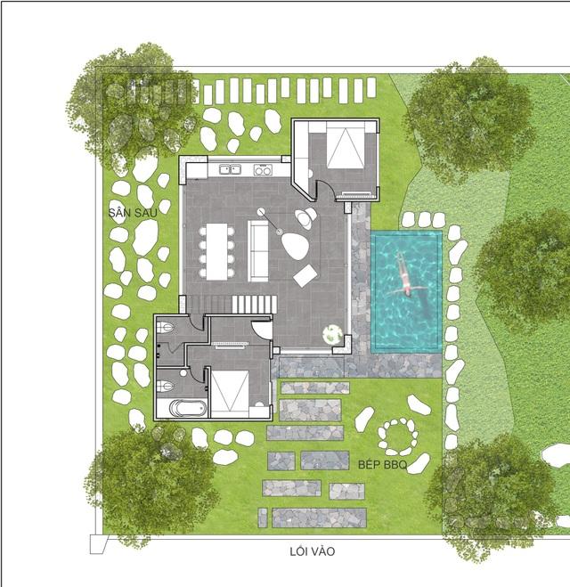 """Gợi ý mẫu thiết kế biệt thự nhà vườn """"mini"""" với chi phí khoảng trên 700 triệu đồng - 2"""