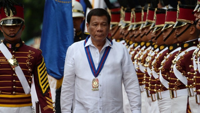 Tổng thống Philippines Rodrigo Duterte (Ảnh: AFP)