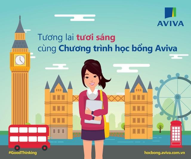 Khách hàng của Aviva Việt Nam nhận học bổng du học lên đến 400 triệu đồng - 1