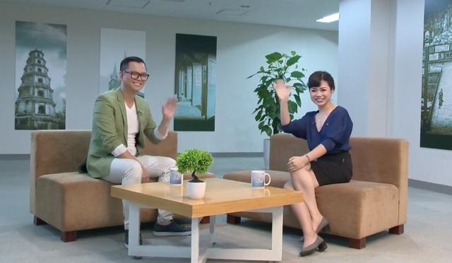 Đạo diễn Long Kan và cuộc trò chuyện cùng MC Thái Trang VTV.
