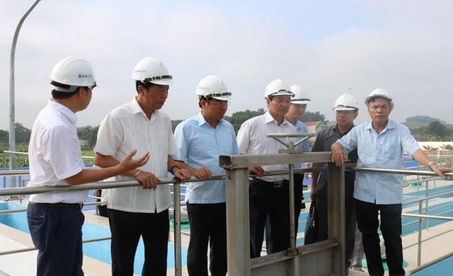 Chính thức bấm nút vận hành nhà máy nước sạch lịch sử tại tỉnh Bắc Giang! - Ảnh 2.