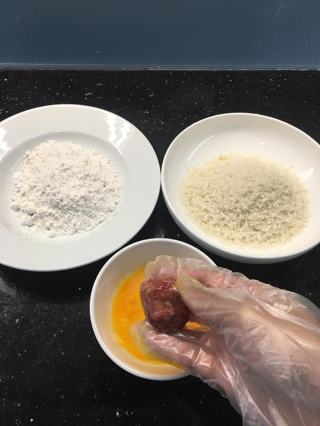 Cuối tuần vào bếp làm món bò viên phô mai nóng chảy thơm nức mũi - 3
