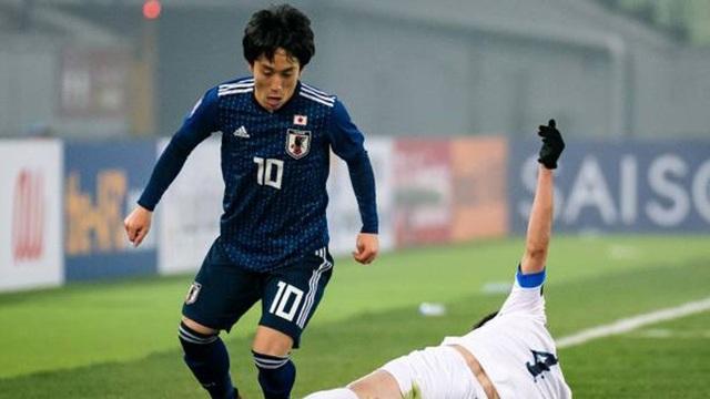 Những ngôi sao của Olympic Nhật Bản khiến Olympic Việt Nam cần dè chừng - 1
