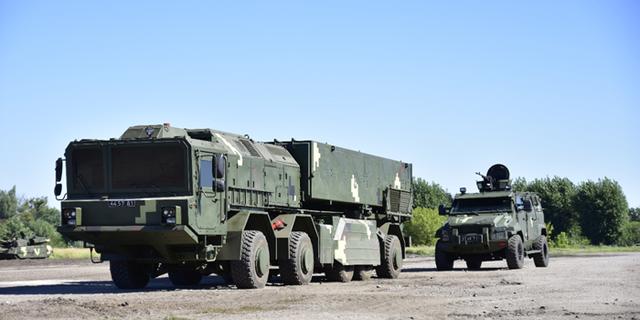 Hệ thống Grom-2 của Ukraine có mục đích sử dụng tương đương tên lửa Iskander của Nga