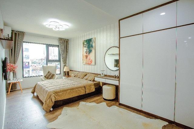 Trước khi chính thức giới thiệu dư án Imperia Sky Garden ra thị trường, chủ đầu tư đã kĩ lưỡng cho xây dựng khu căn hộ mẫu ngay tại khuôn viên dự án (423 Minh Khai, Hà Nội) để khách hàng dễ dàng hình dung về căn nhà lý tưởng của mình.