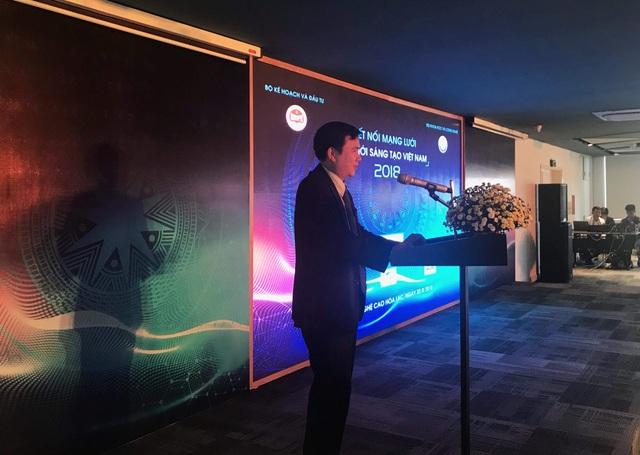 Ông Bùi Thế Duy - Thứ trưởng Bộ Khoa học - Công nghệ phát biểu tại buổi hội thảo.