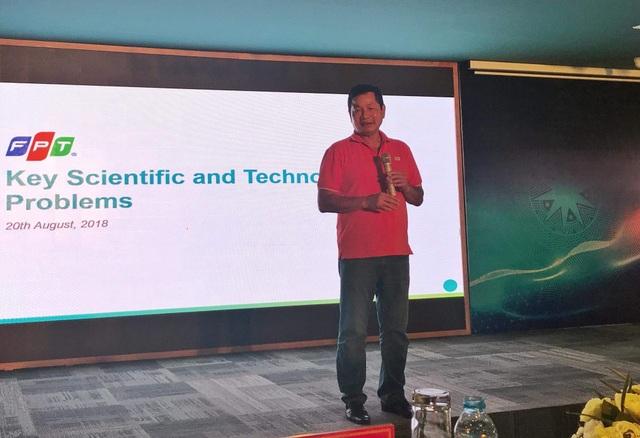 Ông Trương Gia Bình, Chủ tịch Hội đồng quản trị FPT chia sẻ về những bài toán lớn trong nghiên cứu phát triển và ứng dụng công nghệ của CMCN 4.0.