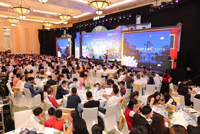 Sự kiện giới thiệu của dự án FLC Quảng Bình vẫn thu hút đông đảo khách hàng trong tháng ngâu